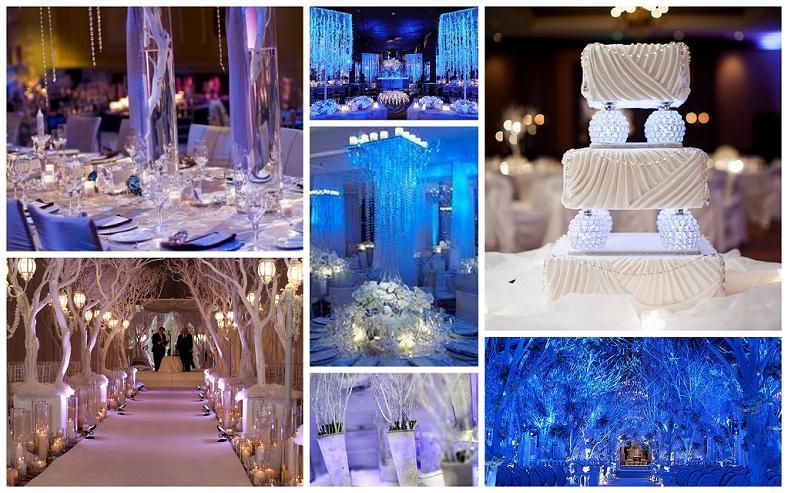 winter wonderland wedding inspiration