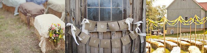 Western Wedding Decor
