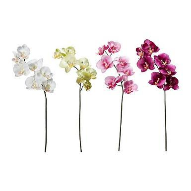 silk wedding flowers orchids
