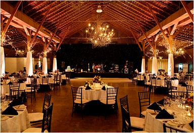 barn wedding style