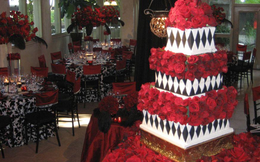 Wedding theme ideas wedding themes - Red and white wedding theme pictures ...