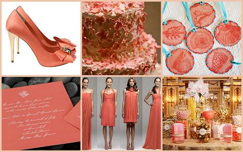 Coral Wedding Theme