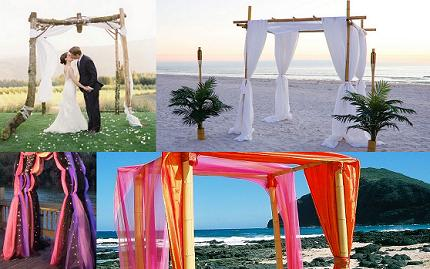 Wedding arch decorations altar decorations wedding junglespirit