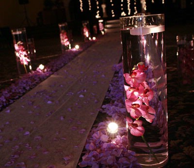 Wedding Aisle Decorations on Outdoor Wedding Decorations Garden Weddings