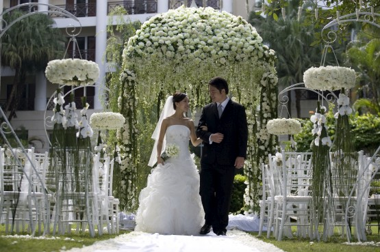 garden wedding decoration,outdoor wedding decoration, Garden idea