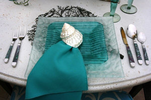 Teal Design Wedding Table