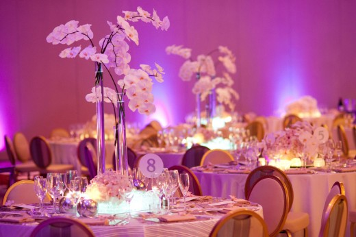 Wedding Table Decor, Table decorations