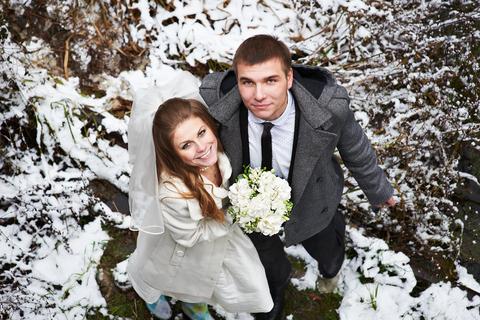 windter wonderland couple